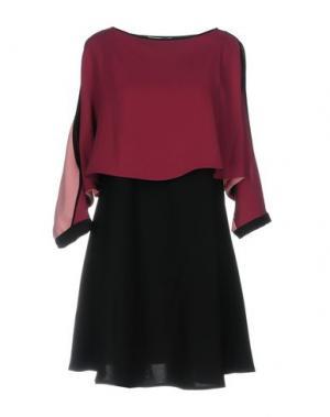 Короткое платье LALTRAMODA. Цвет: розовато-лиловый