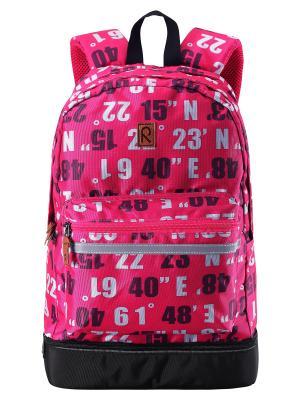 Рюкзак Reima. Цвет: розовый