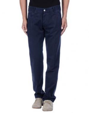 Повседневные брюки AVIO. Цвет: темно-синий
