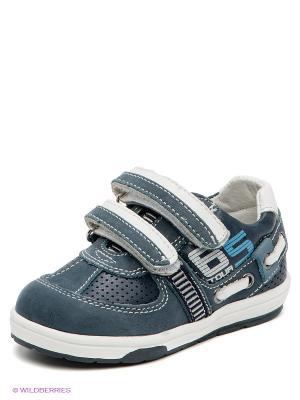 Кроссовки El Tempo. Цвет: темно-синий, белый