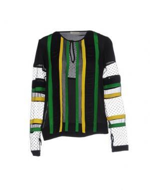 Блузка EMMA COOK. Цвет: черный