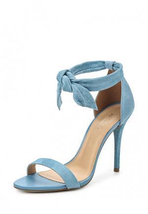 Босоножки Arezzo. Цвет: голубой