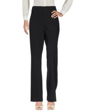 Повседневные брюки LAFTY LIE. Цвет: черный