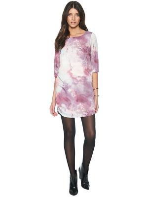 Платье TOM TAILOR. Цвет: лиловый