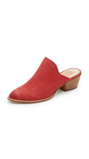 Туфли без задников Shiloh Dolce Vita. Цвет: красный