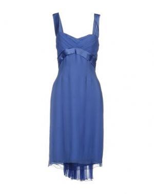 Платье до колена LUISA BECCARIA. Цвет: сиреневый