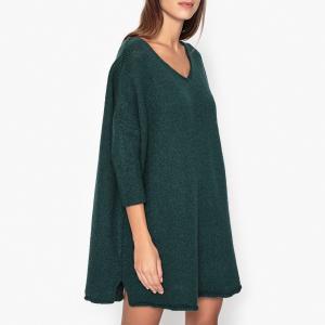 Платье из трикотажа VACAVILLE AMERICAN VINTAGE. Цвет: зеленый