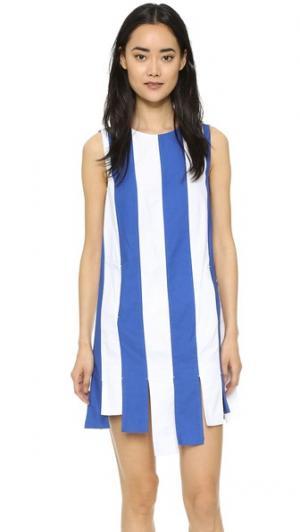 Платье Bonnie Elle Sasson. Цвет: синяя/белая полоска