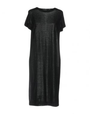 Платье до колена ANNAPURNA. Цвет: черный