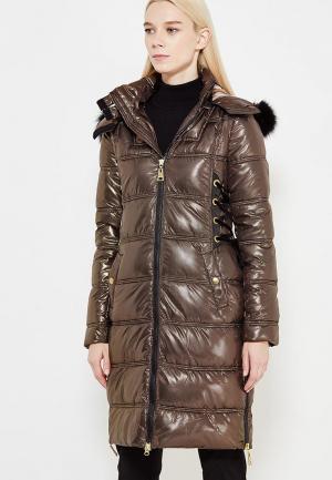 Куртка утепленная Just Cavalli. Цвет: золотой
