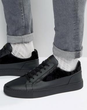 Glorious Gangsta Низкие кроссовки London. Цвет: черный
