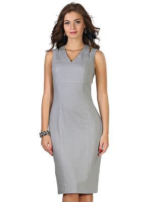 Платье GREY CAT. Цвет: светло-серый