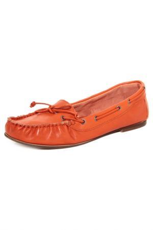 Мокасины EYE. Цвет: оранжевый
