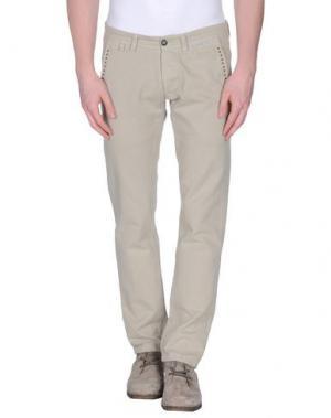 Повседневные брюки MACCHIA J. Цвет: бежевый