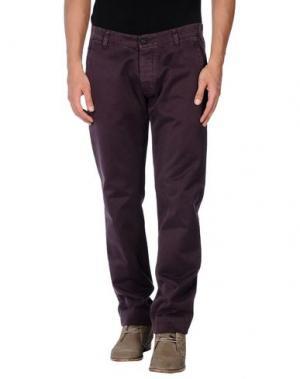 Повседневные брюки MACCHIA J. Цвет: баклажанный