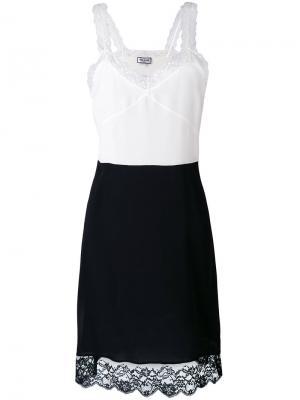 Платье с кружевной отделкой Paul & Joe. Цвет: чёрный