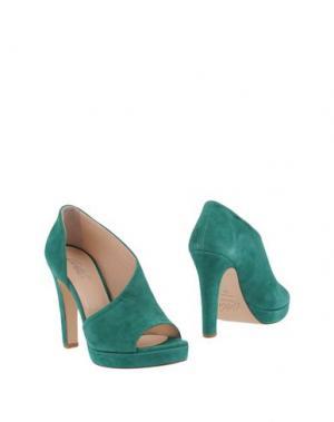 Ботинки CARLA G.. Цвет: зеленый