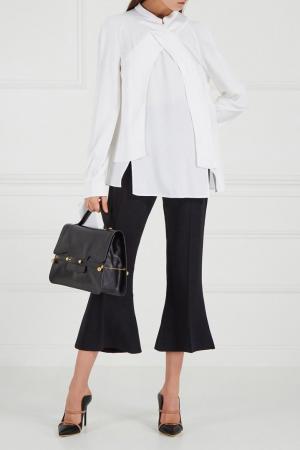Укороченные брюки-клеш Antonio Berardi. Цвет: черный