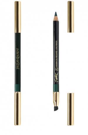 Crayon Yeux Карандаш для глаз №5 Deepest Green YSL. Цвет: бесцветный