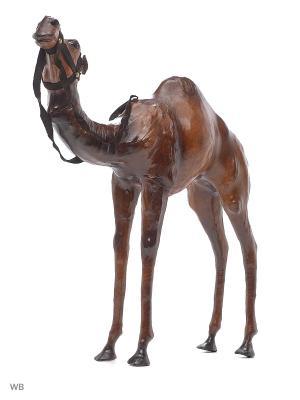 Статуэтка Верблюд ETHNIC CHIC. Цвет: коричневый, темно-коричневый
