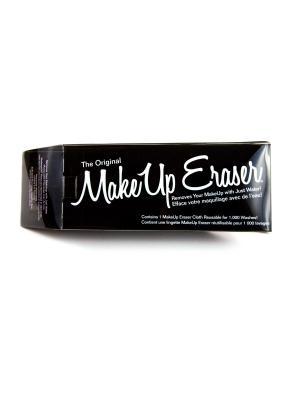 Makeup Eraser салфетка для снятия макияжа черная. Цвет: черный