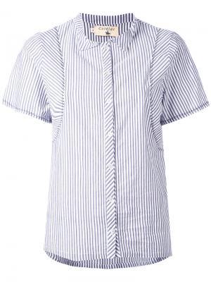 Полосатая рубашка Cotélac. Цвет: серый