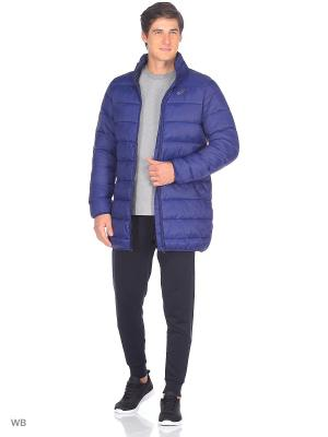 Куртка WINTER LONG PADDED JKT ASICS. Цвет: синий