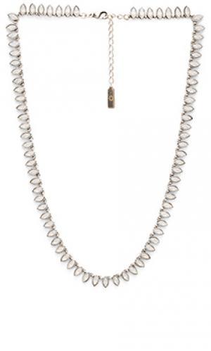 Ожерелье cleopatra SunaharA. Цвет: металлический серебряный