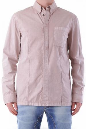 Рубашка BRAY STEVE ALAN. Цвет: розовый