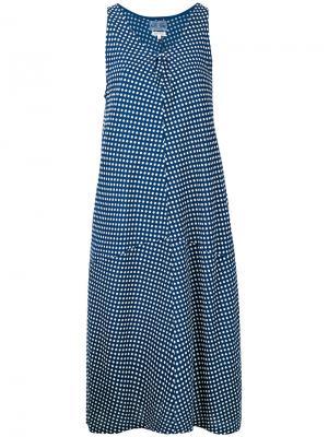 Polka dot dress Blue Japan. Цвет: синий