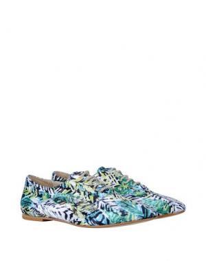 Обувь на шнурках GEORGE J. LOVE. Цвет: зеленый