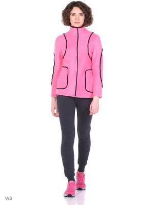 Куртка спорт Vilana. Цвет: розовый