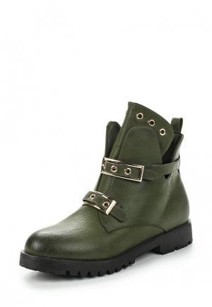 Ботинки Saivvila. Цвет: хаки