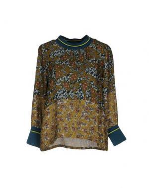 Блузка GAZEL. Цвет: зеленый