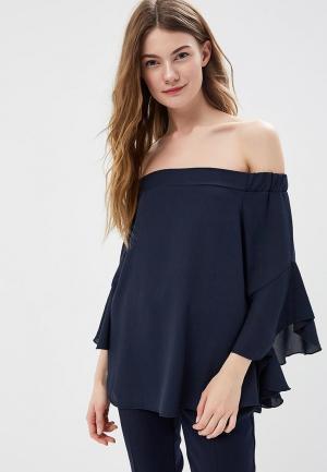 Блуза Massimiliano Bini. Цвет: синий