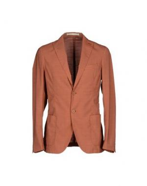 Пиджак FUTURO. Цвет: коричневый
