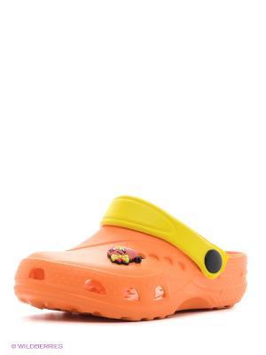 Сабо Дюна. Цвет: черный, оранжевый, желтый