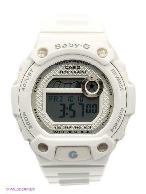 Часы Baby-G BLX-100-7E CASIO. Цвет: белый