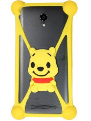 Partner ПР033429 Universal bumper-case (cartoons) #3. Цвет: желтый