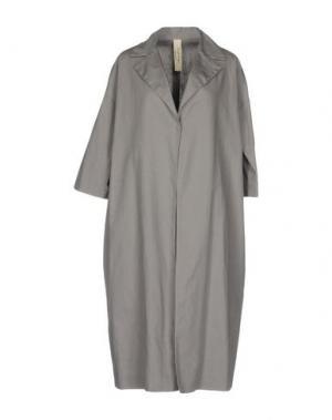 Легкое пальто DANIELA PANCHERI. Цвет: серый