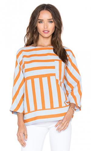 Топ meder M.i.h Jeans. Цвет: оранжевый
