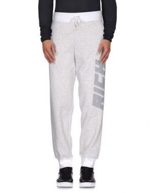Повседневные брюки JOYRICH. Цвет: светло-серый