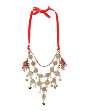 Ожерелье ERICKSON BEAMON. Цвет: красный