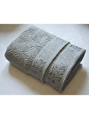 Комплект полотенец Арнамент, 50х90, 70х140 см La Pastel. Цвет: серый