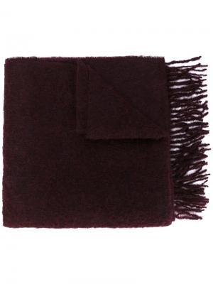 Классический шарф Études. Цвет: розовый и фиолетовый