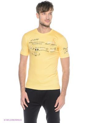 Футболка Ocean66. Цвет: желтый