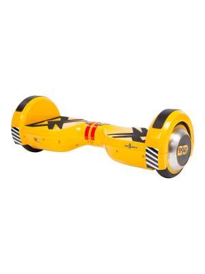 Детский гироскутер CarWalk Sport. Размер колеса 4,5 дюймов.. Цвет: желтый