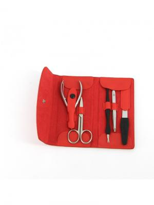 Маникюрный набор GD. Цвет: красный
