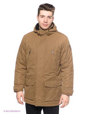 Куртка Stonecast. Цвет: коричневый