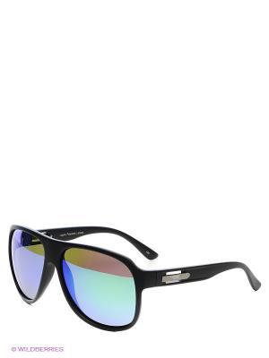 Солнцезащитные очки Legna. Цвет: черный, зеленый